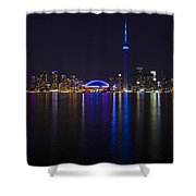 Toronto From Center Island Shower Curtain
