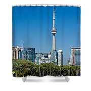 Toronto Harbour Shower Curtain