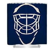 Toronto Maple Leafs Goalie Mask Shower Curtain