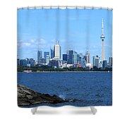 Toronto Ontario Canada Skyline Shower Curtain