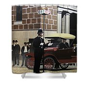 Toronto Traffic Cop 1912 Shower Curtain