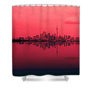Toronto With A Twist Shower Curtain
