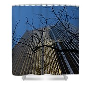 Toronto's Golden Bank - Royal Bank Plaza Downtown Shower Curtain
