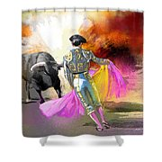 Toroscape 43 Shower Curtain
