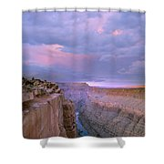 Toroweap Overlook Grand Canyon Nparizona Shower Curtain by Tim Fitzharris