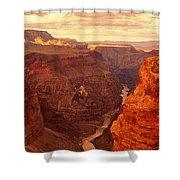 Toroweap Point, Grand Canyon, Arizona Shower Curtain