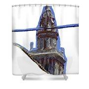 Torre De Ecija Shower Curtain