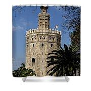 Torre Del Oro Shower Curtain