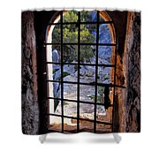 Torre Des Savinar Shower Curtain