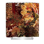 Torremolinos Right Shower Curtain