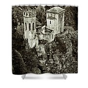 Torretta Pepoli Platinum Shower Curtain