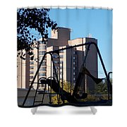 Torrington Towers 1 Shower Curtain