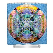 Torusphere Synthesis Cell Firing Soulin IIi Shower Curtain