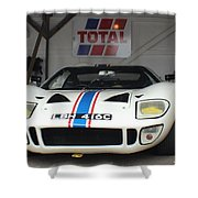 Total Ford Gt 40 Shower Curtain