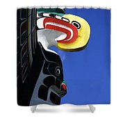 Totem Pole 9 Shower Curtain
