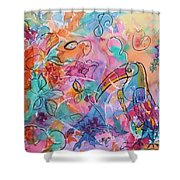 Toucan Dreams Shower Curtain