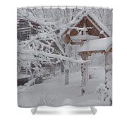Touch Of Color Shower Curtain