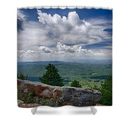 Touch The Clouds  Shower Curtain