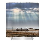Touched By Heaven Shower Curtain