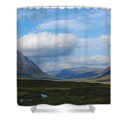 Touching Clouds Shower Curtain