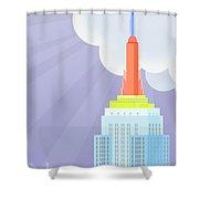 Touching Heaven Shower Curtain
