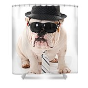 Tough Dog Shower Curtain