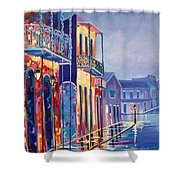 Toulouse At Bourbon New Orleans Shower Curtain