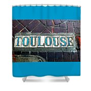 Toulouse Street Shower Curtain