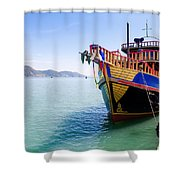Tour Boat Shower Curtain
