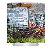 Tour De India Shower Curtain