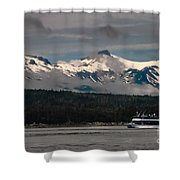 Touring Alaska Shower Curtain