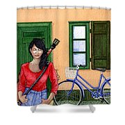 Touring Shower Curtain