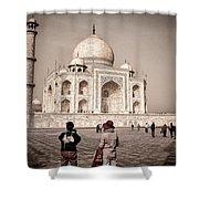Touring The Taj Shower Curtain