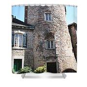 Tournus Village Shower Curtain