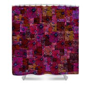 Toward Square Shower Curtain