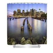 Towards The Evening Star Shower Curtain