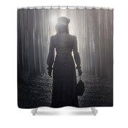 Towards The Light Shower Curtain by Joana Kruse