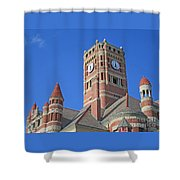 Tower And Turrets Shower Curtain