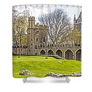 Tower Bridge And London Tower Shower Curtain