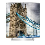 Tower Bridge And The Shard Shower Curtain