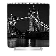 Tower Bridge Evening Shower Curtain