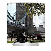 Tower Bridge In The City Of London Shower Curtain