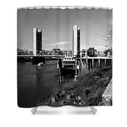 Tower Bridge Sacramento Shower Curtain