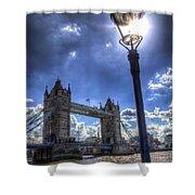 Tower Bridge View Shower Curtain
