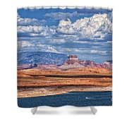 Tower Butte Shower Curtain