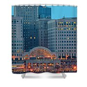 Tower City Shower Curtain