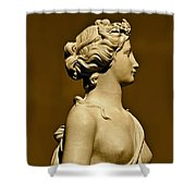 Tower Hill Garden Goddess Shower Curtain