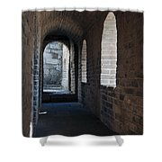 Tower In The Great Wall 695 Shower Curtain