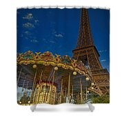 Carousel Tower Shower Curtain