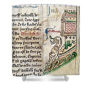 Tower Of London Escape Shower Curtain